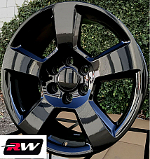 20 x9 inch Wheels for Cadillac Escalade Gloss Black Tahoe LT Midnight Edition
