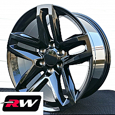 20 inch for Chevy Avalanche Replica Wheels Gloss Black Z71 TRAIL BOSS style Rims