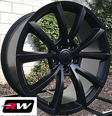 20 inch RW Wheels for Jeep Grand Cherokee 20x10 Satin Black SRT Rims 5x5 +50