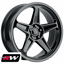 20 inch 20 x9 Wheels for Dodge Challenger Gloss Black Rims 2018 SRT Demon Style