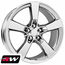 20 x9 inch Wheels for Chevy Camaro 2010-2019 Chrome SS Rims