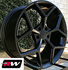 20 x9 / 20 x10 inch Wheels for Chevy Camaro 2010-2019 Matte Black Z28 Rims