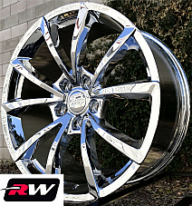20 inch RW Wheels for Jeep Grand Cherokee Chrome 20x9 20x10 Staggered Rims 5x5