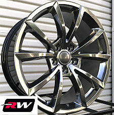20 inch RW Wheels for Jeep Grand Cherokee 20x10 Hyper Silver SRT Rims 5x5 +50