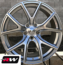 Dodge Durango Wheels 20 inch 20x9 Silver Jeep Grand Cherokee SRT OE Replica Rims
