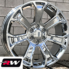 22 inch 22 x9 Wheels for Chevy Avalanche Chrome Rims 5665