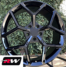 20 x9 / 20 x10 inch Wheels for Chevy Camaro 2010-2019 Gloss Black Z28 Rims