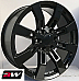 20 inch 20 x8.5 Wheels for Chevy Avalanche Gloss Black Denali CK375 Rims