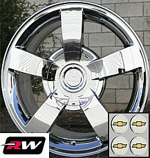 22 x10 inch Chevy Silverado SS OE Replica Wheels Chrome Rims 6x139.7 +30