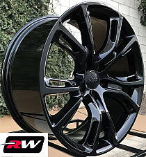 20x10 Jeep Grand Cherokee SRT8 Spider Monkey OEM Replica Wheels Gloss Black Rims