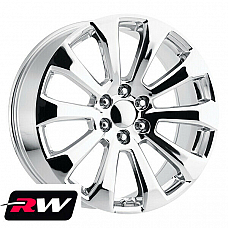 22 x 9 inch 5922 OEM Specs Chrome Replica Wheels for Cadillac Escalade