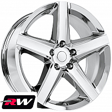 Jeep Grand Cherokee SRT8 OE Replica Staggered Wheels 20x9 / 20x10 Chrome Rims