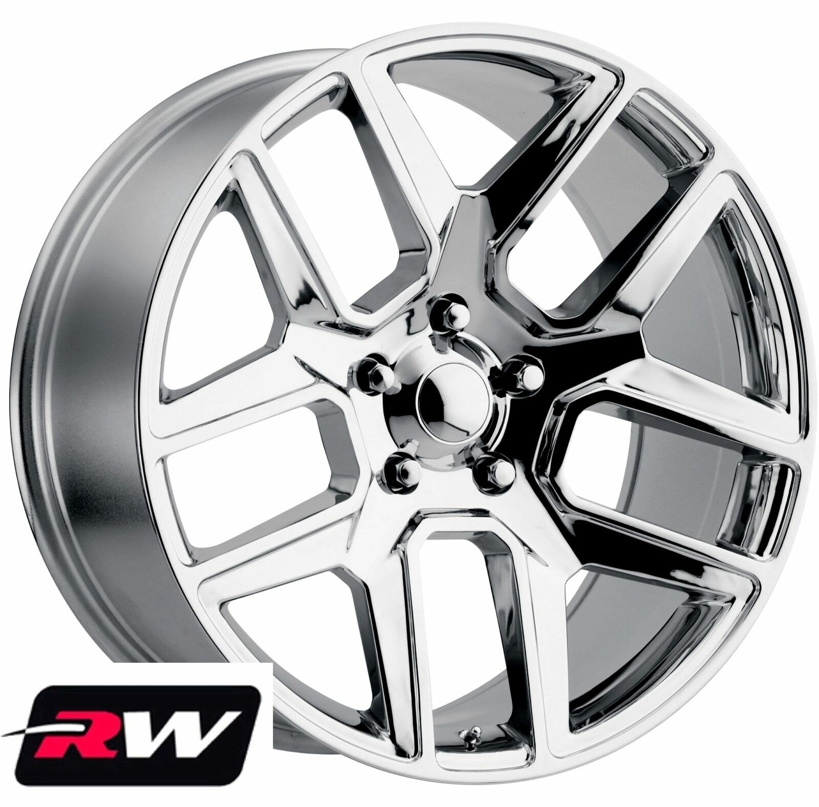"22"" Inch 22 X10"" Wheels For Ram 1500 2011"